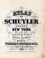 Title Page, Schuyler County 1874